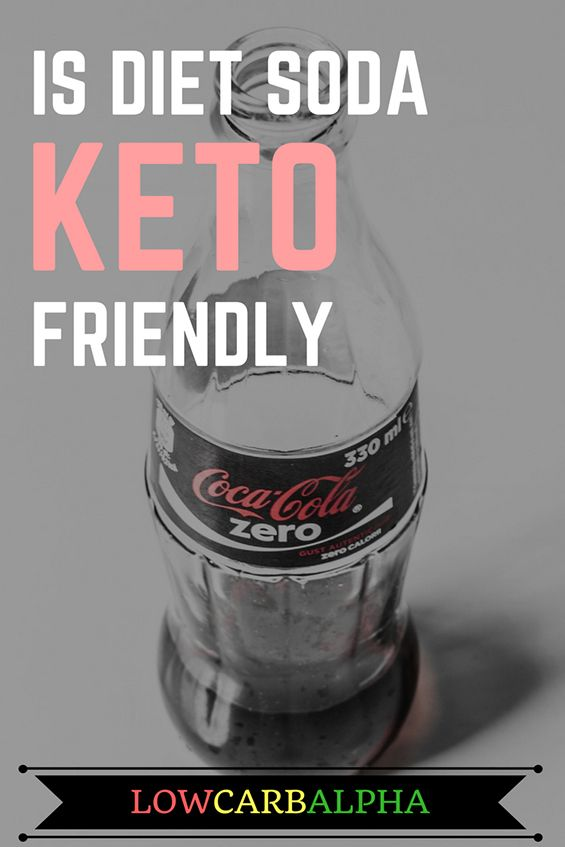 Is diet soda keto friendly