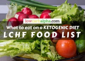 How to start a LCHF diet | Low carb high fat food list