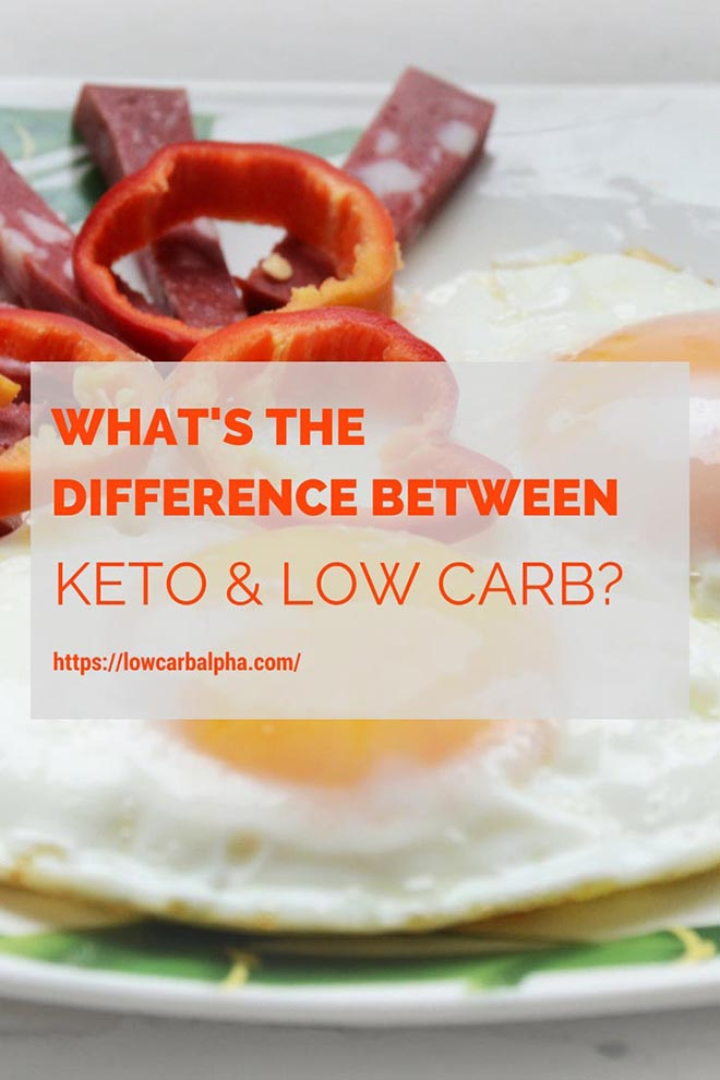 Is Keto and Low Carb the same