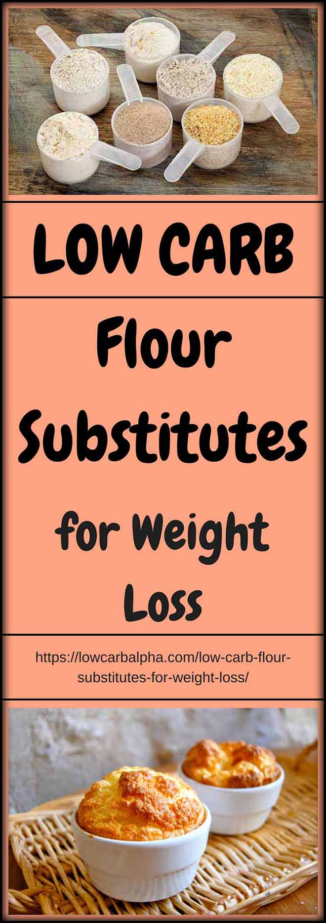 Low Carb Flour Substitutes for Weight Loss
