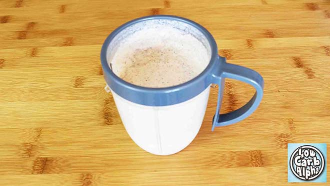 Low Carb High Fat Almond Vanilla Protein Shake Recipe