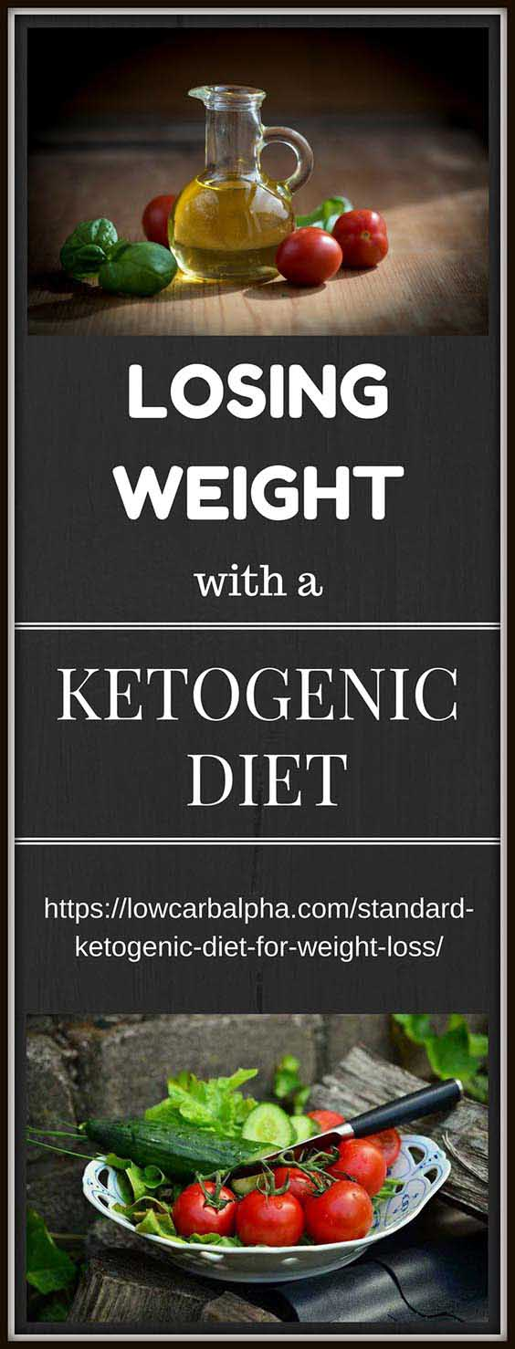 Losing weight with a standard ketogenic diet