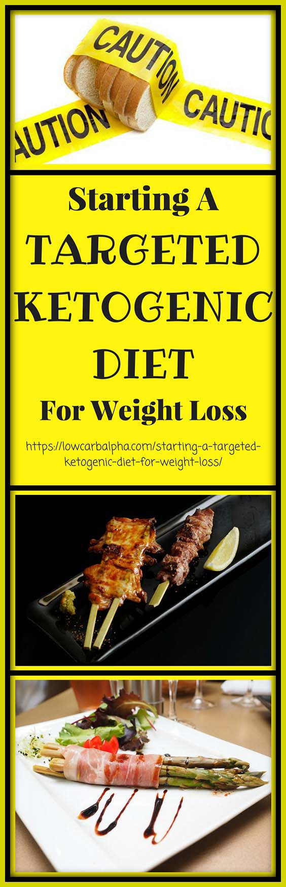 Starting a targeted ketogenic diet for weight loss