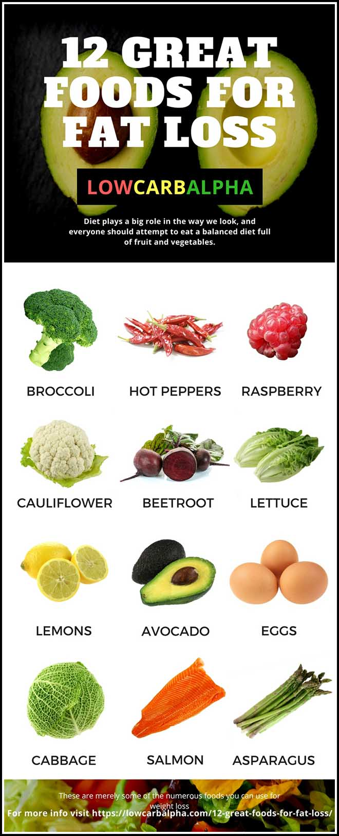 12 Foods for Weight Loss