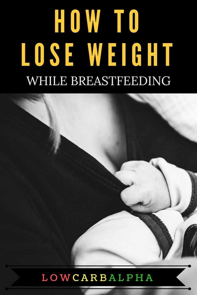 How to lose weight while breastfeeding, Mother breatfeeding her baby #health #nutrition #loseweight #lowcarbalpha
