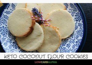 Keto Coconut Flour Cookies