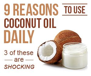 9 reasons to use coconut oil daily