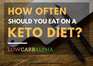 How Many Meals to Eat a Day on Keto Diet