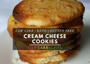 Low Carb Keto Cream Cheese Cookies Recipe