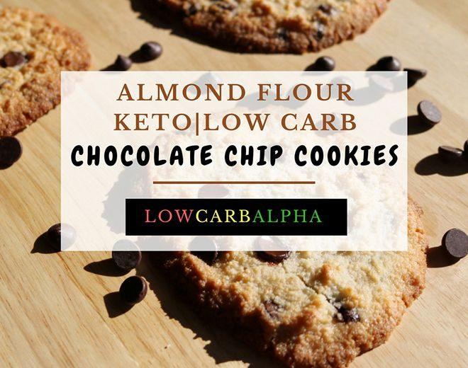 Almond Flour Keto Chocolate Chip Cookies Recipe