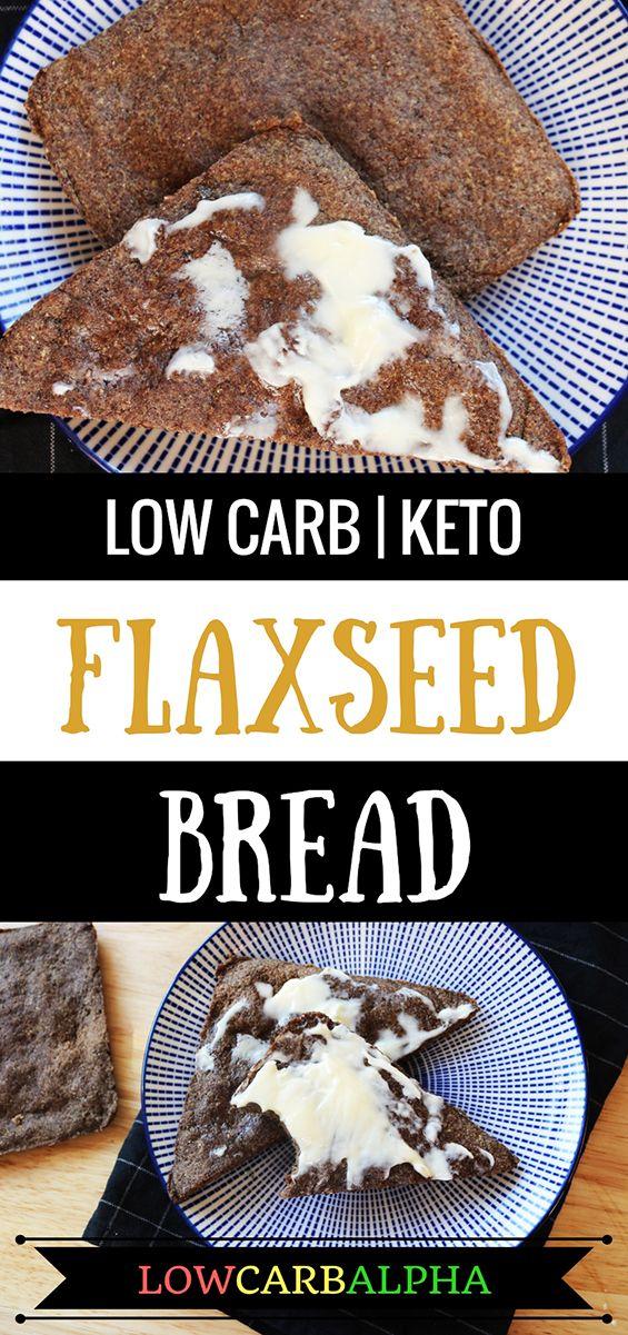 Low carb keto flaxseed bread recipe #lowcarb #keto #lchf #lowcarbalpha