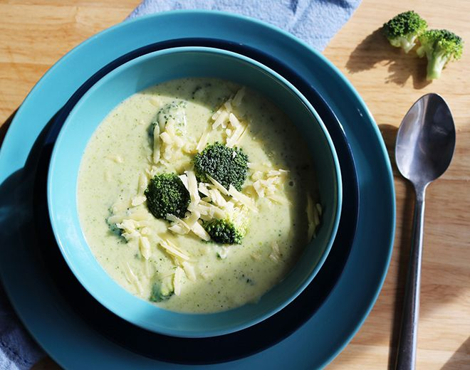 Broccoli Cheese Soup Keto Recipe