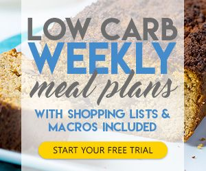 weekly keto meal plans free trial