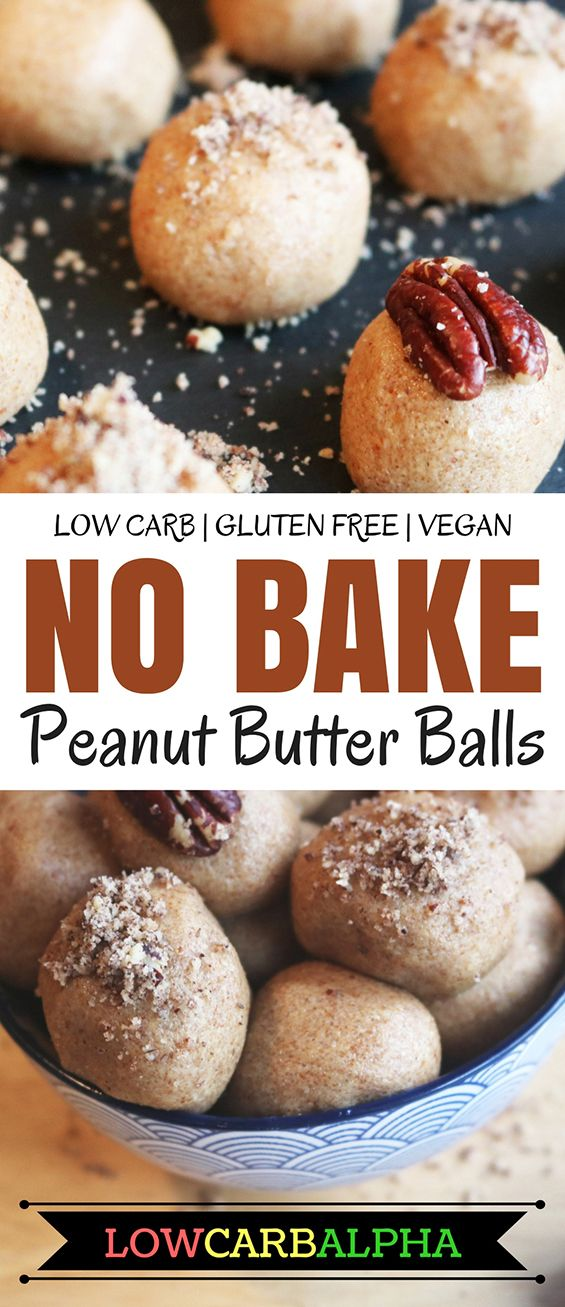 No Bake Low Carb Peanut Butter Coconut Balls Sugar Free