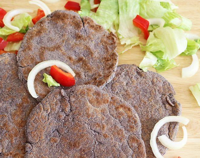 Coconut Flour Psyllium Flatbread | Keto, Low Carb, Vegan Recipe