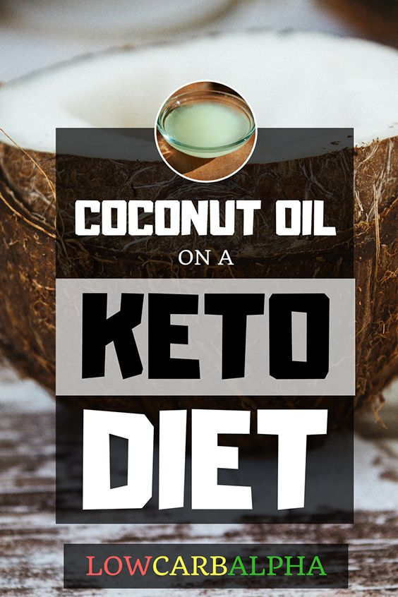 Keto Diet Coconut Oil and Weight Loss #lowcarb #keto #LCHF #lowcarbalpha