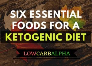 Six essential foods for a Ketogenic Diet & LCHF Nutrition