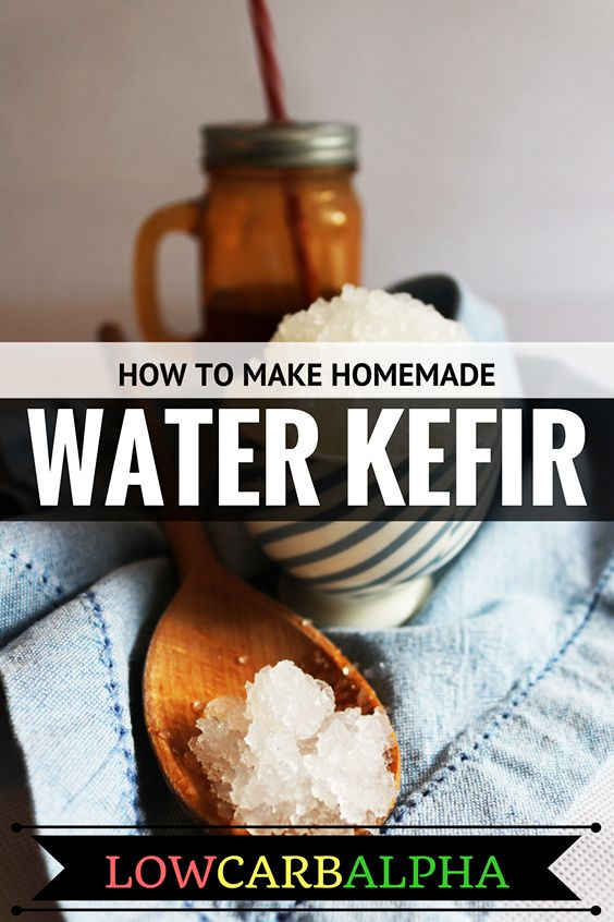How to make Homemade Water Kefir Recipe #lowcarb #keto #LCHF #lowcarbalpha