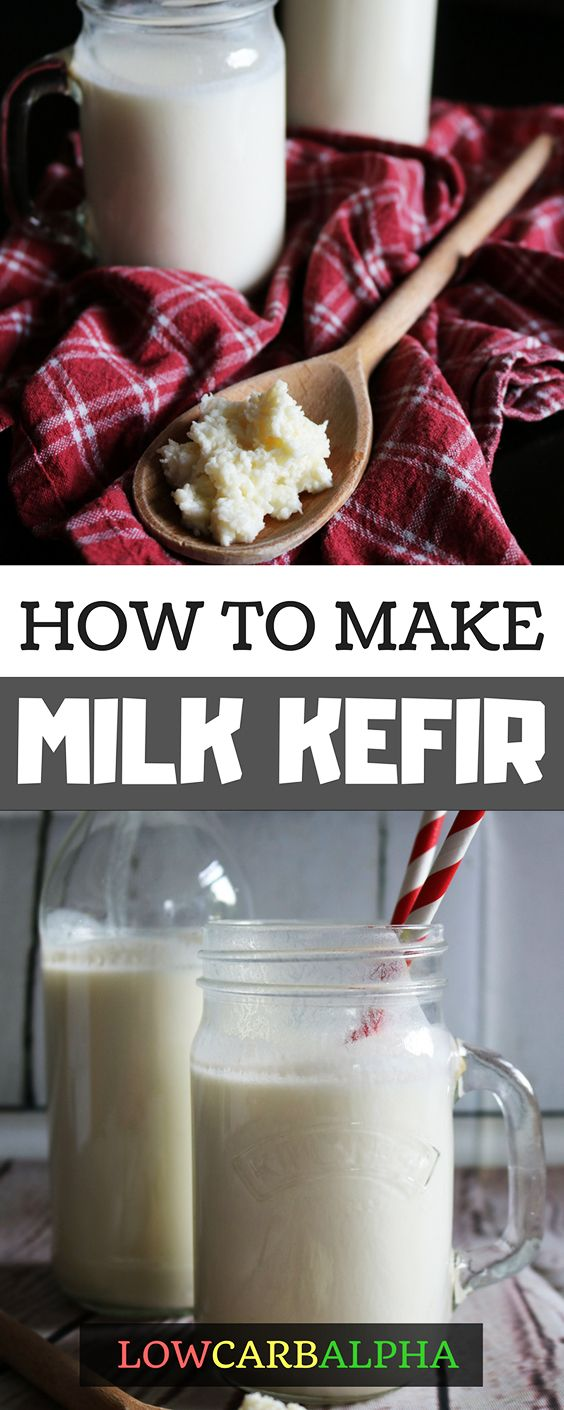 How to make milk kefir recipe and grains #health #nutrition #loseweight #lowcarbalpha