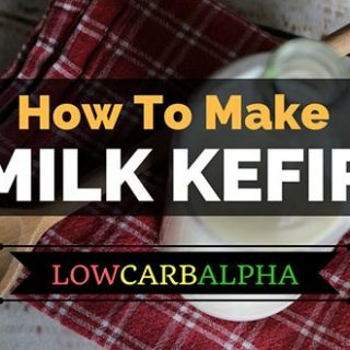 How to make milk kefir recipe and grains