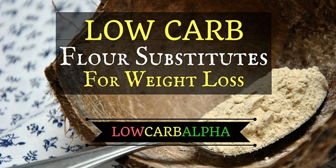 Low Carb Flour Substitutes for Healthy Recipes
