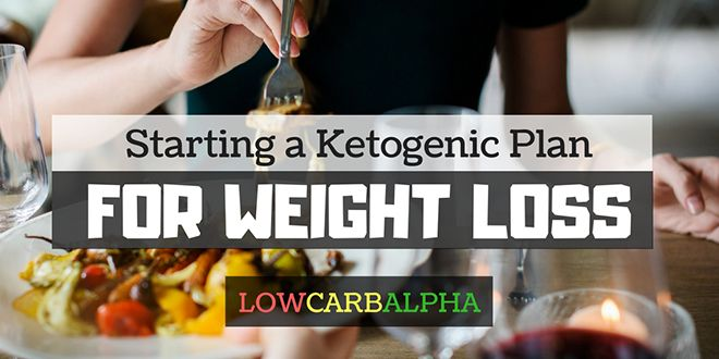 Starting a Ketogenic Plan for Weight Loss