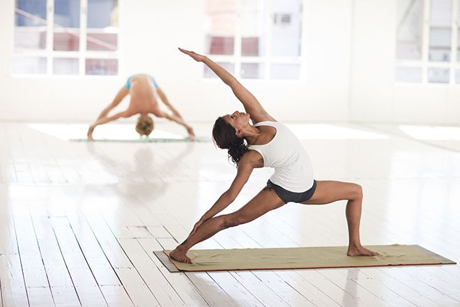 yoga movements and postures