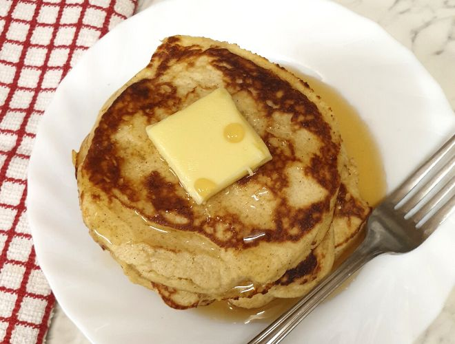 Keto Cream Cheese Coconut Flour Pancakes