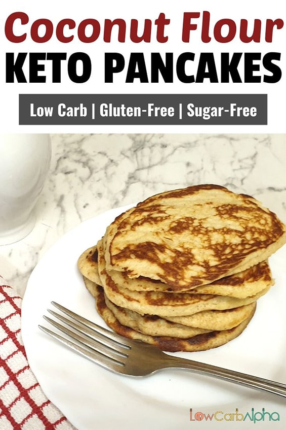 Low Carb Cream Cheese Coconut Flour Pancakes Recipe