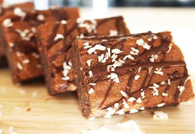 Almond Flour Coconut Oil Keto Brownies