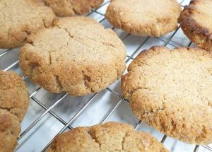 Almond Butter Coconut Flour Keto Cookies